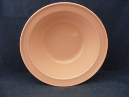 "Lu-Ray Pink 9"" Serving Bowl Mid Century Modern Taylor Smith Taylor Good - $19.95"