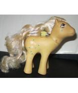 Vintage G1 Gen 1 MLP My Little Pony ROSEDUST Flutter pony MISSING wings - $15.99