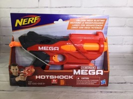 Nerf HotShock N-Strike Mega Blaster Dart Gun Hasbro 2017 With 2 Darts In... - $18.50