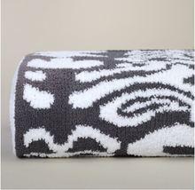Kashwere Damask Slate Gray and White Throw Blanket - $175.00