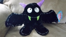 "Halloween 2017 Black Bat Brand New Plush Stuffed Animal 18"" Sugar Loaf - $9.99"