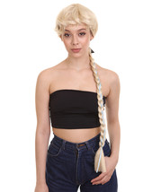 Long Braids Blonde Princess Wig   Disney Fantasy Cosplay Wig HW-1999 - $31.85