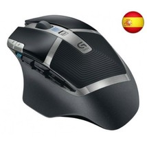 Ratón Gaming Inalámbrico USB Negro - $2.340,88 MXN