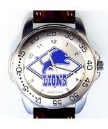 Detroit Lions Sportivi New Unworn NFL Mans Vintage 1997 Heavy Leather Wa... - $74.10