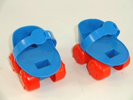 Vintage 1984 TOMY Get Along Gang Dotty Dog Doll Accessories - Roller Skates  - $13.19