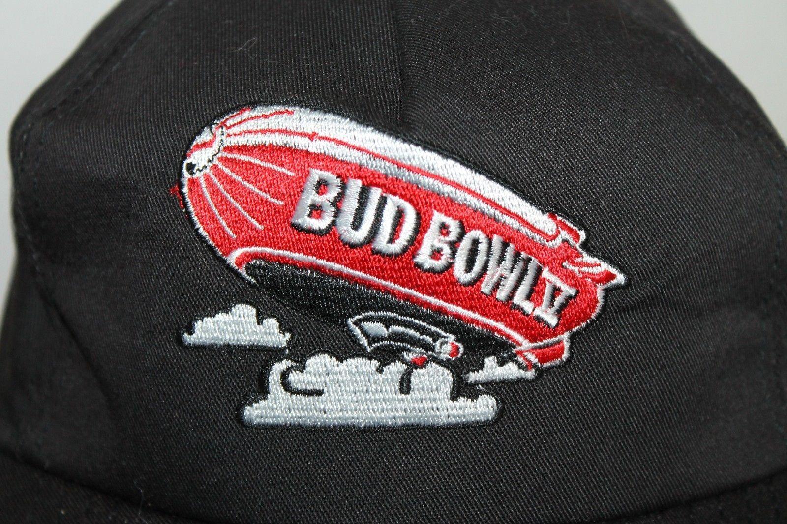Budweiser Bud Bowl 5 V Blimp Snapback Hat Cap NFL Football Superbowl XXVII 27