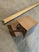 """Vintage Moving Wood Wishing Well """"Impossible Dream"""" Music Box - $21.78"""