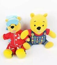Fisher Price Disney Sing N Snore Winnie Pooh ABCs Talking Stuffed Plush ... - $32.82