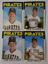 1986 Topps Traded Pittsburgh Pirates Team Set of 5 Baseball Cards - $12.00