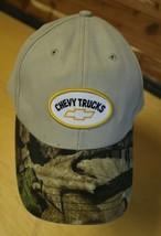 GM CHEVY TRUCKS Bowtie, Chevrolet, Truck,  Khaki, Camo, Cap Hat Adjustable  - $12.59