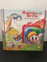 Rainbow Brite and the Very Brave Day Book with leg warmers By Hallmark - $21.24