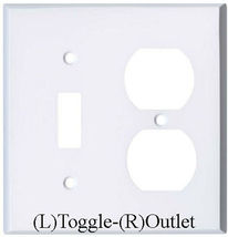 Comics Heroes iron-man Light Switch Outlet Toggle Wall Cover Plate Home decor image 12