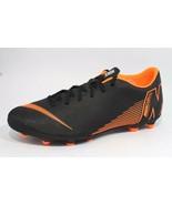 Nike Mercurial vapor 12 club FG soccer cleat black orange neon size 11.5  - $39.57