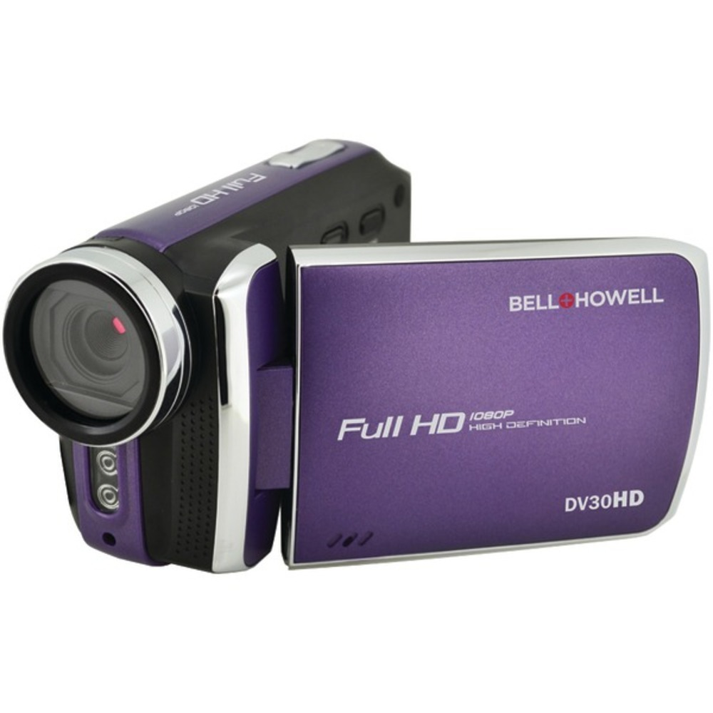 Primary image for Bell+Howell DV30HD-P 20.0-Megapixel 1080p DV30HD Fun Flix Slim Camcorder (Purple