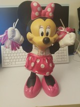 Minnie Mouse Disney Cheering Cheerleader Doll Sings Shakes Moves - $12.63