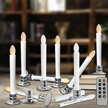 Window Candles with Timer Battery Operated Electric Candle Flickering - $83.34