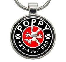 Pet ID Tag - Max (Sam and Max) - Dog ID Tag, Cat ID Tag, Pet Tag, Dog Tag - $19.99