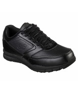Skechers Work Wide Fit Black shoe Women Memory Foam Comfort Slip Resista... - $56.99
