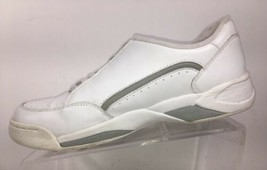 Clarks Women's Sneakers size 9 M White Leather Athletic Walking Shoes - $34.87