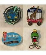 Six Flags Marvin Circus Hollywood Collectible Pins Choice of Individual Pin - $14.99+