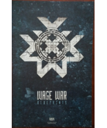 Wage War 'Blueprints' Double Sided 11 x 17 Soft Poster - $8.95