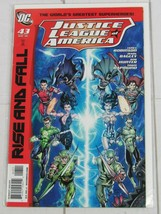 Justice League Of America  #43 DC, 2010  Rise and Fall - C4976 - $2.49
