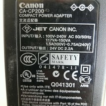 Canon CA-CP200 Adapter Power Supply 24VDC 2.2A - $14.39
