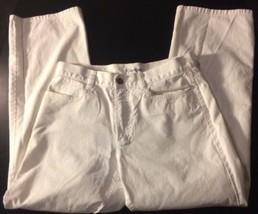 Calvin Klein Womans White Jeans Bin#7 - $8.59