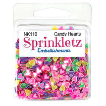 Shaker Sprinkletz Embellishments by Buttons Galore. Choose Shapes image 6
