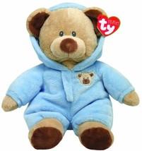 "Ty Pluffies Pj Bear 9"" Blue - $13.79"