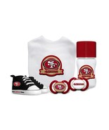 NFL Baby Fanatic San Francisco 49ers Baby Essentials 5 Piece Infant Gift... - $45.53
