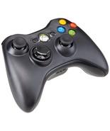 Xbox 360 Black Wireless Controller - Used/Refurbished - $20.56