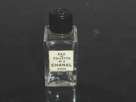 "CHANEL NO 5 Miniature BOTTLE 1.5"" Tall - $19.00"