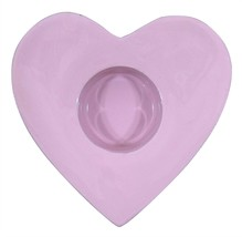 Cuore Rosa Portacandele Tea Light Alum001 - $7.48