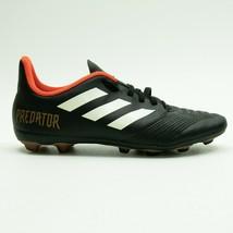 Adidas Predator Boys Black/Orange/Gold Soccer Cleats Size 5.5  - $9.79