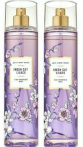 2-Pack Bath Body Works FRESH CUT LILACS Fine Fragrance Mist Spray 8 fl.oz - $22.08