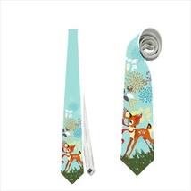 necktie bambi neck tie butterflies - $22.00