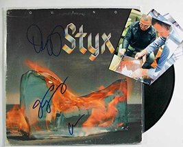 """Styx Band Signed Autographed """"Equinox"""" Record Album w/ Signing Photos - $149.99"""