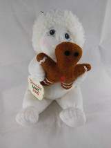 "Dreamsicles Angel Hugs with Gingerbread doll Plush Bean Bag 9"" White  Mi... - $8.90"