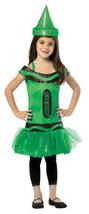 Rasta Imposta Girls' Green Crayola Tutu Costume Size 4-6X free shipping - $19.75