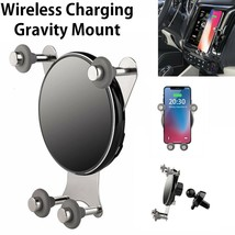 10W QI Wireless Fast Charge Gravity Air Vent Phone Mount for iPhone XS N... - $8.70+