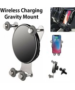 10W QI Wireless Fast Charge Gravity Air Vent Phone Mount for iPhone XS N... - $6.99+