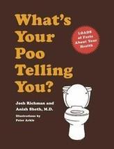 What's Your Poo Decir You? Divertido Baño Libro Inauguración Regalo Nuevo