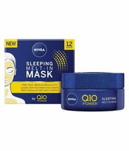Genuine Nivea Q10 Power Melt in face skin night sleeping Mask cream crea... - $23.50