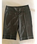 Used 1 time Original GUESS  women sz S 27 above the knee Black Suit Pant... - $14.75