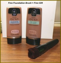 Olay Shine Control or All Day Moisture Foundation  #86 Deep Beige #92 Da... - $7.25