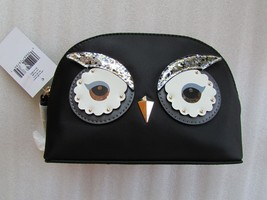 Kate Spade New York Cosmetic Bag Star Bright Owl Marcy NEW - $68.31