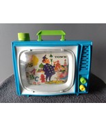 VINTAGE ANTIQUE COLLECTIBLE OHIO ART WIND-UP LULLABY TOY TELEVISION TV - $7.50