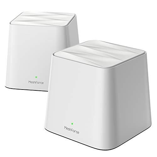 MeshForce Whole Home Mesh WiFi System 2 Pack, Dual Band AC1200 Router Replacemen