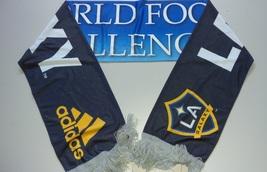 Adidas Mls Soccer Team Scarf Acrylic L.A Galaxy 2012 - $15.00